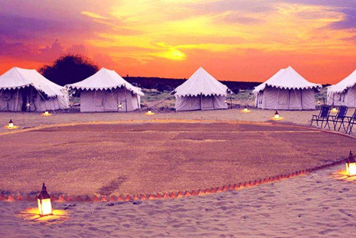 best desert camp in Sam Jaisalmer